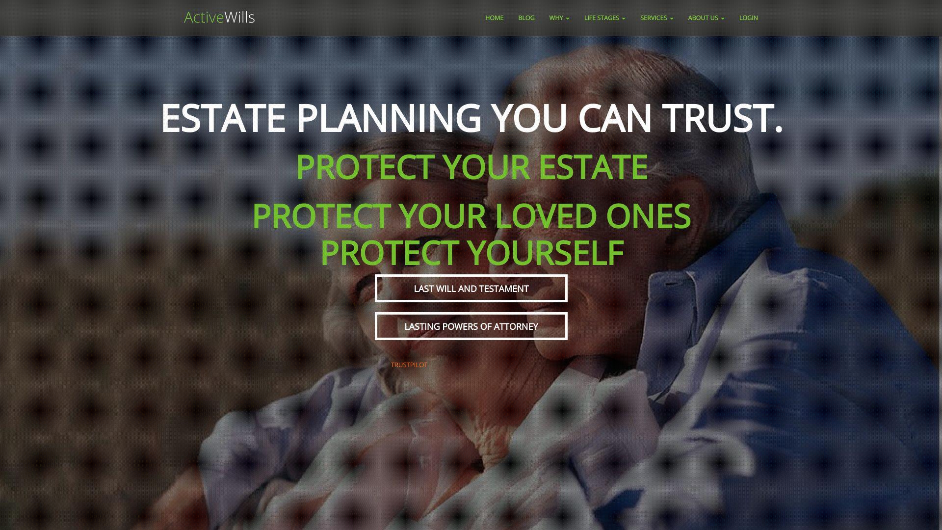 Active Wills screenshot