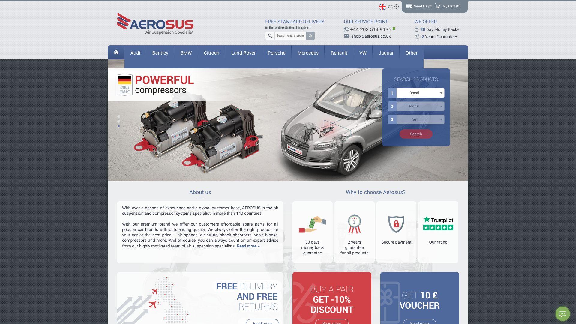 Aerosus screenshot