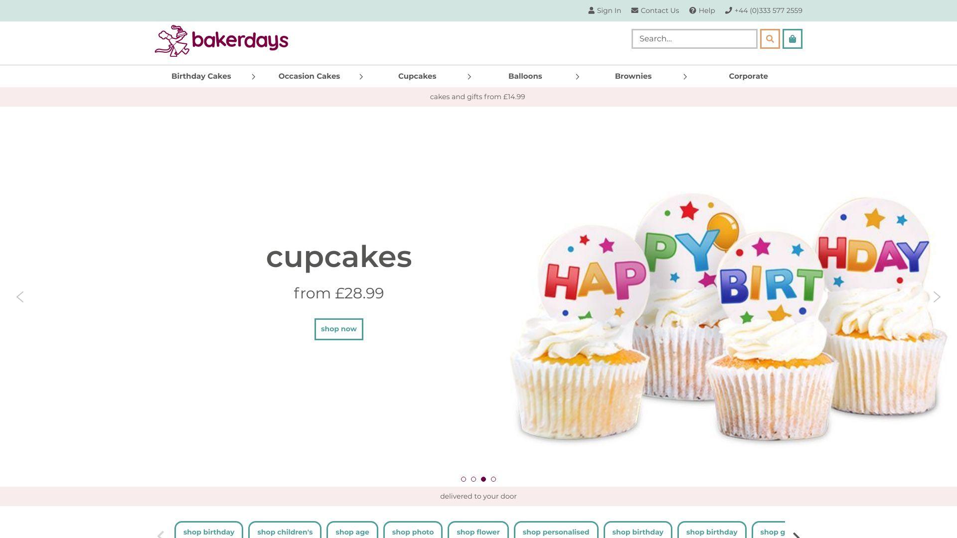 Bakerdays screenshot