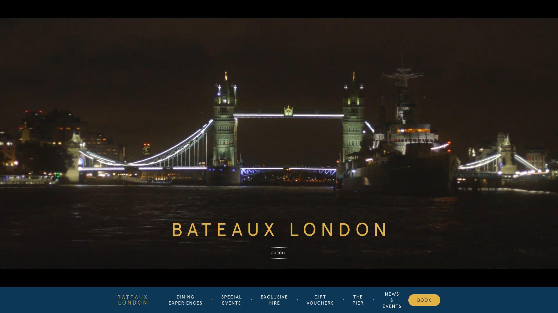 Bateaux London screenshot