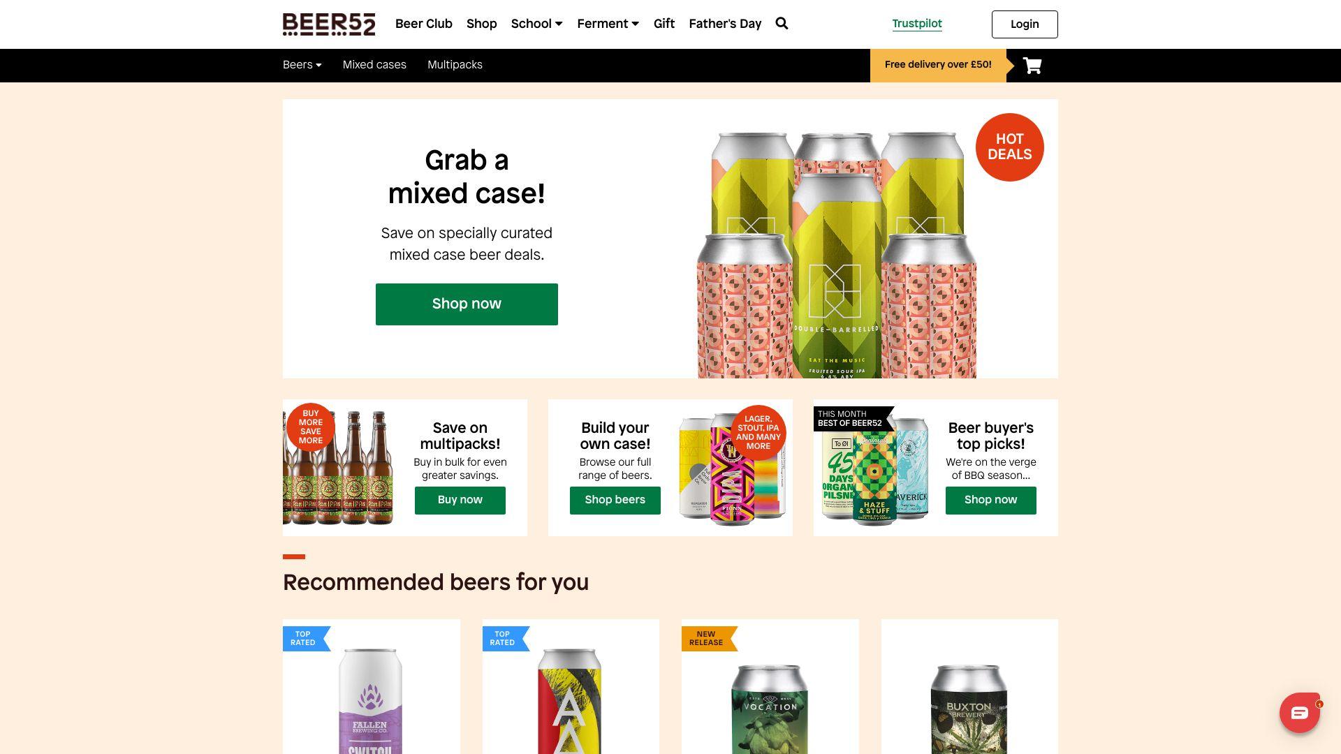 Beer52 screenshot