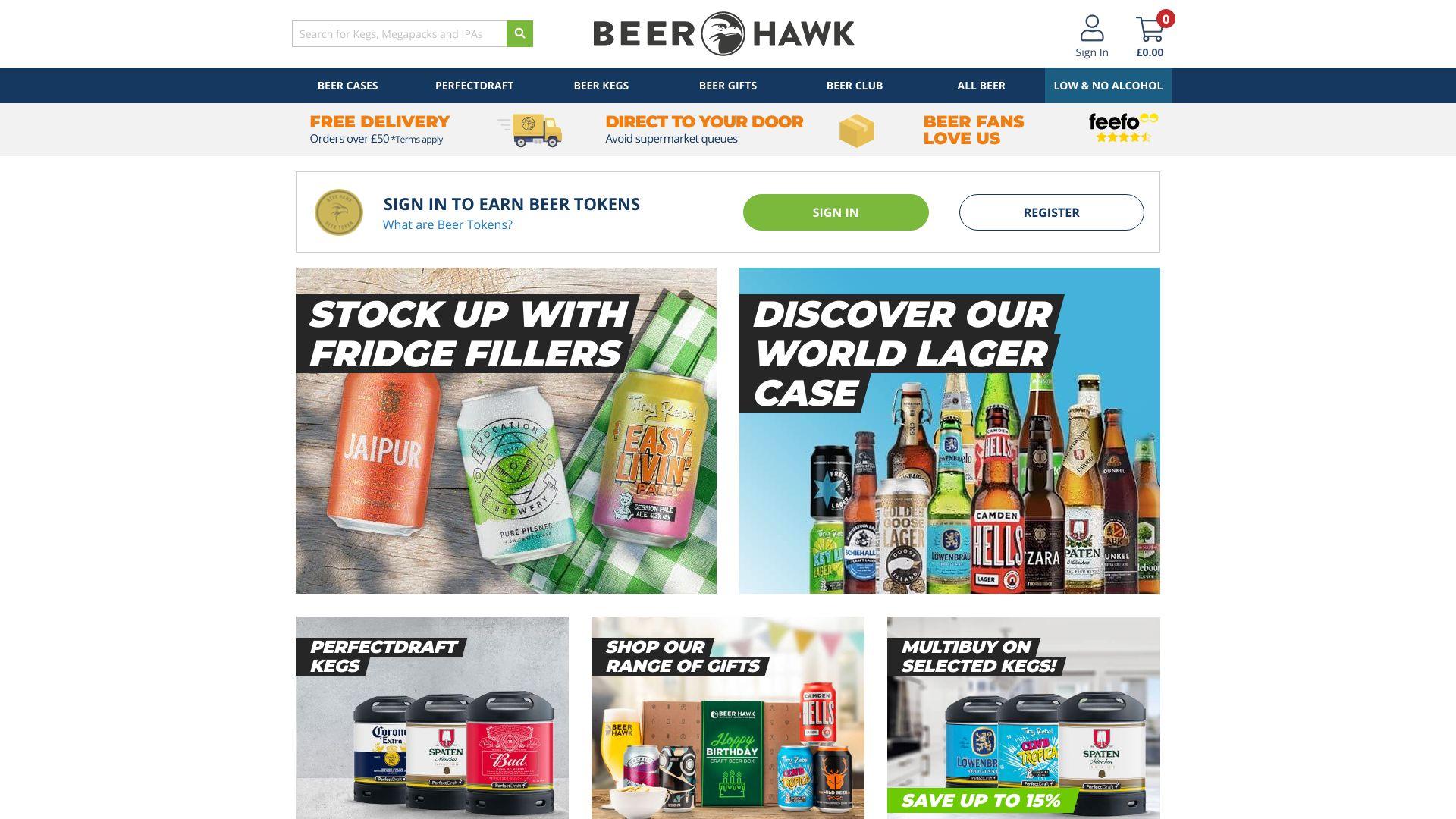 BeerHawk screenshot