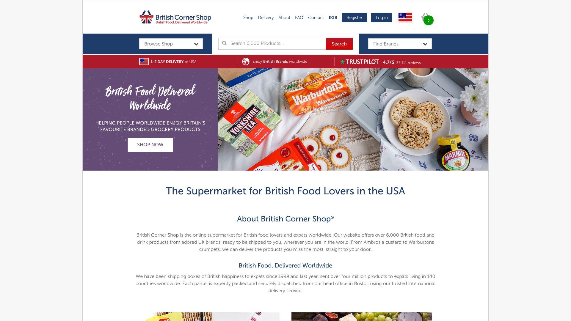 British Corner Shop screenshot