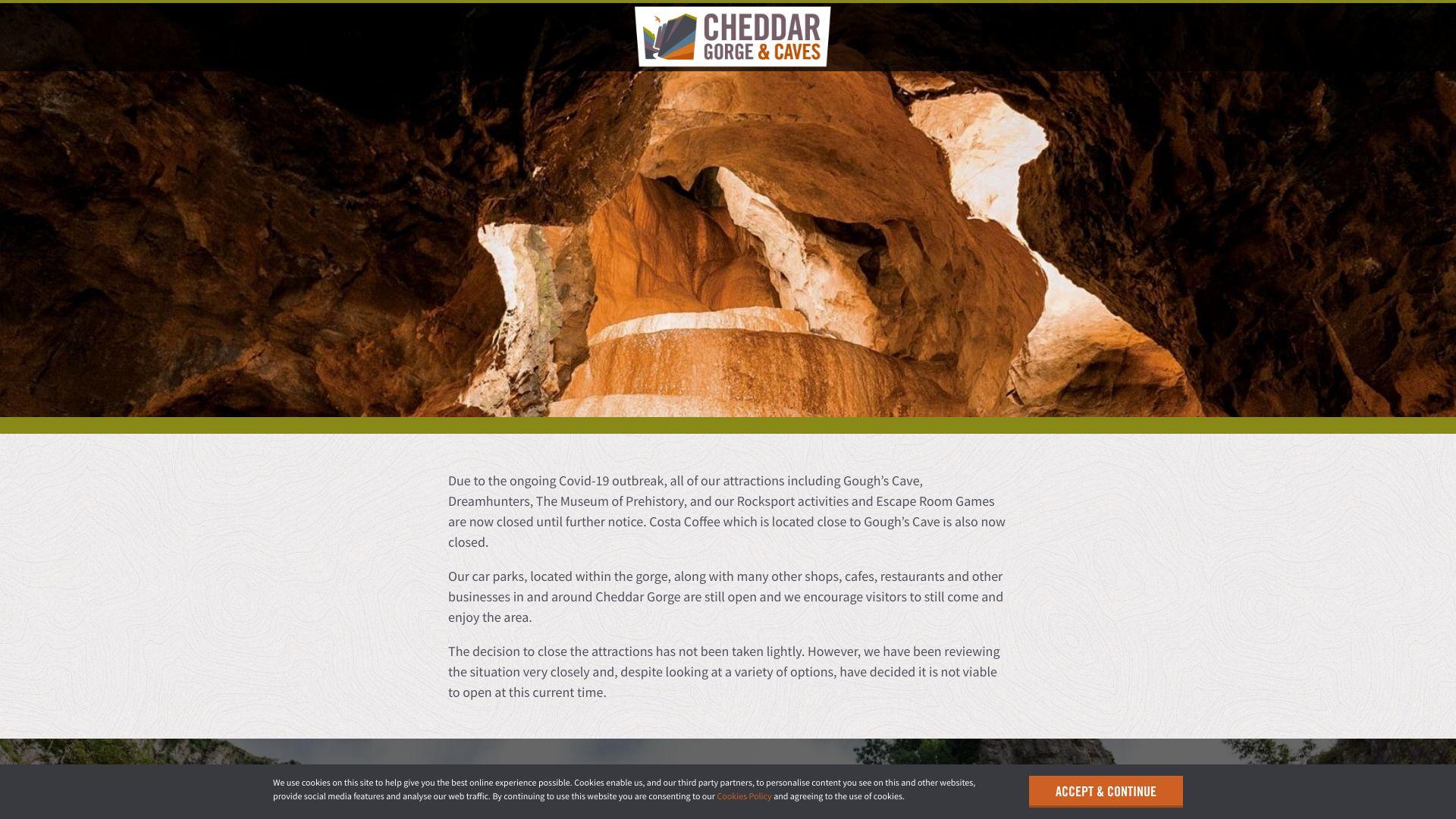 Cheddar Gorge screenshot