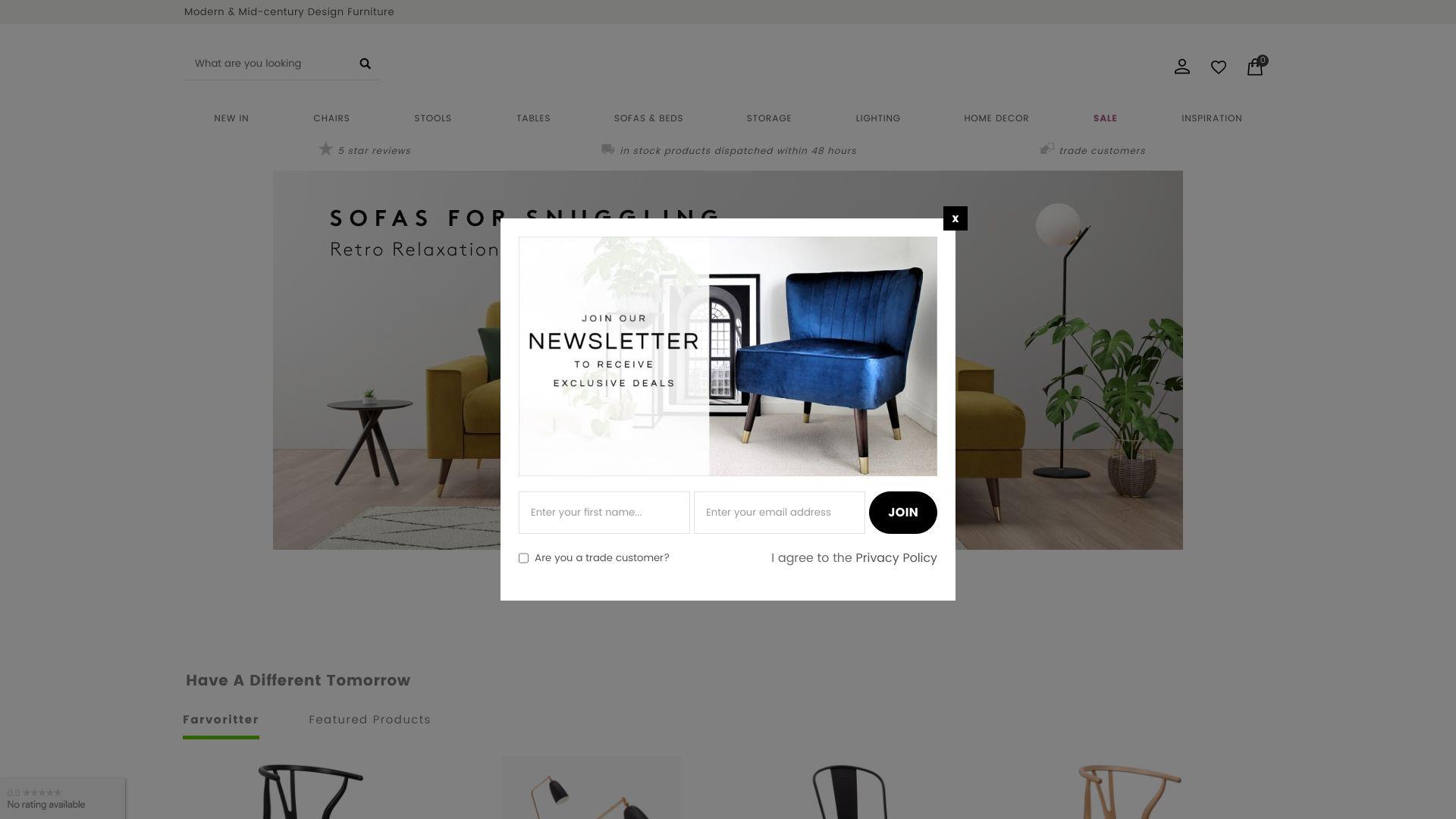 Cult Furniture screenshot
