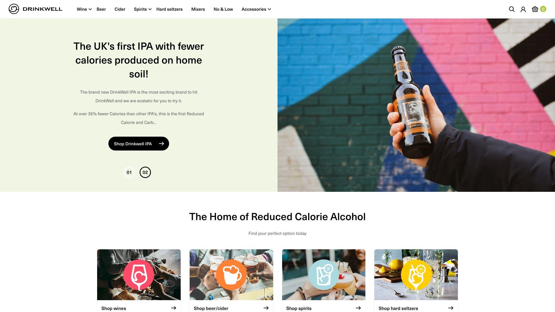 DrinkWell (SkinnyBooze) screenshot