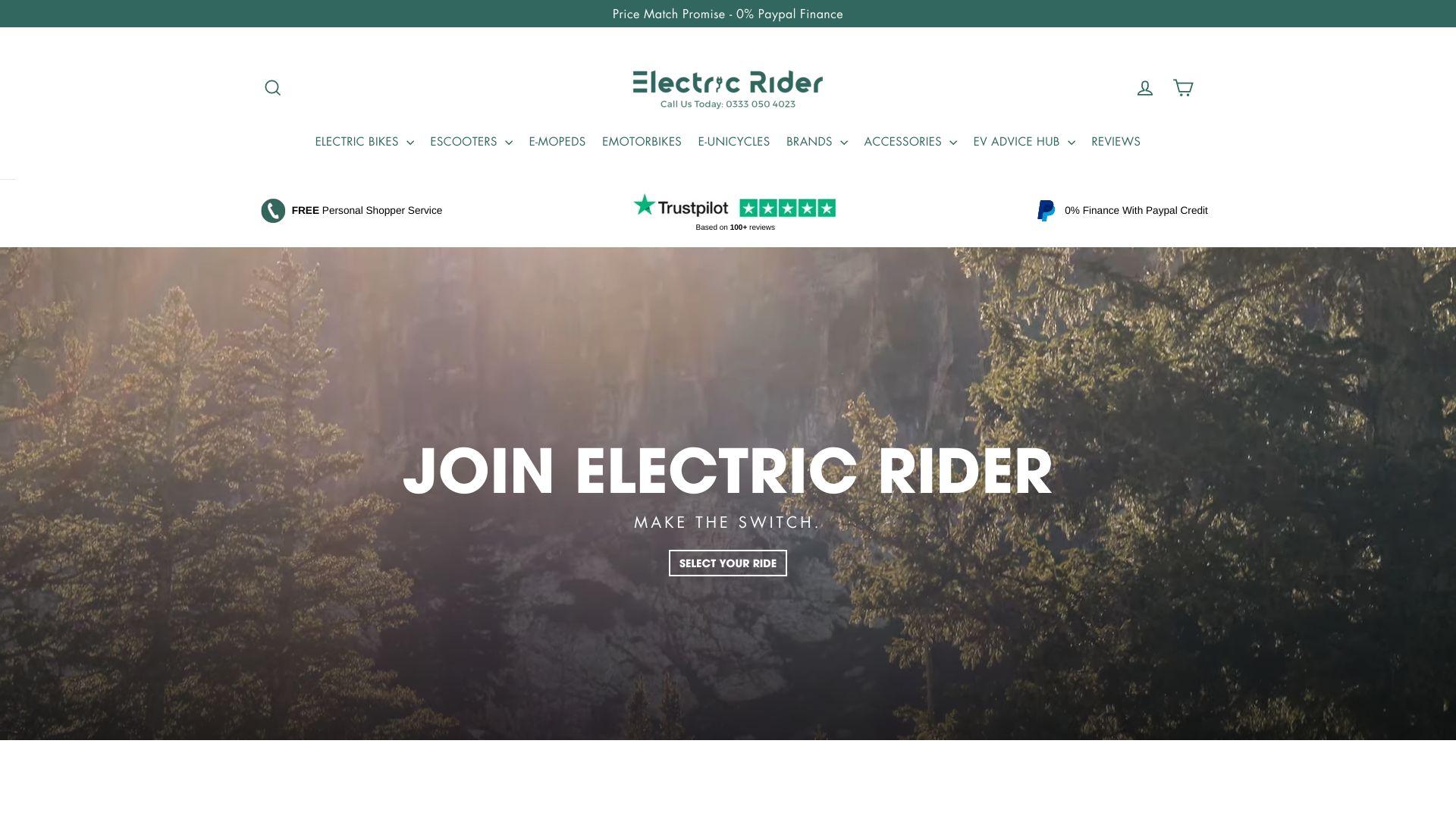 Electric Rider screenshot