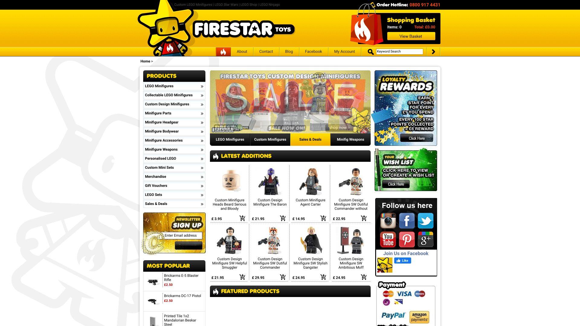 FireStar Toys screenshot