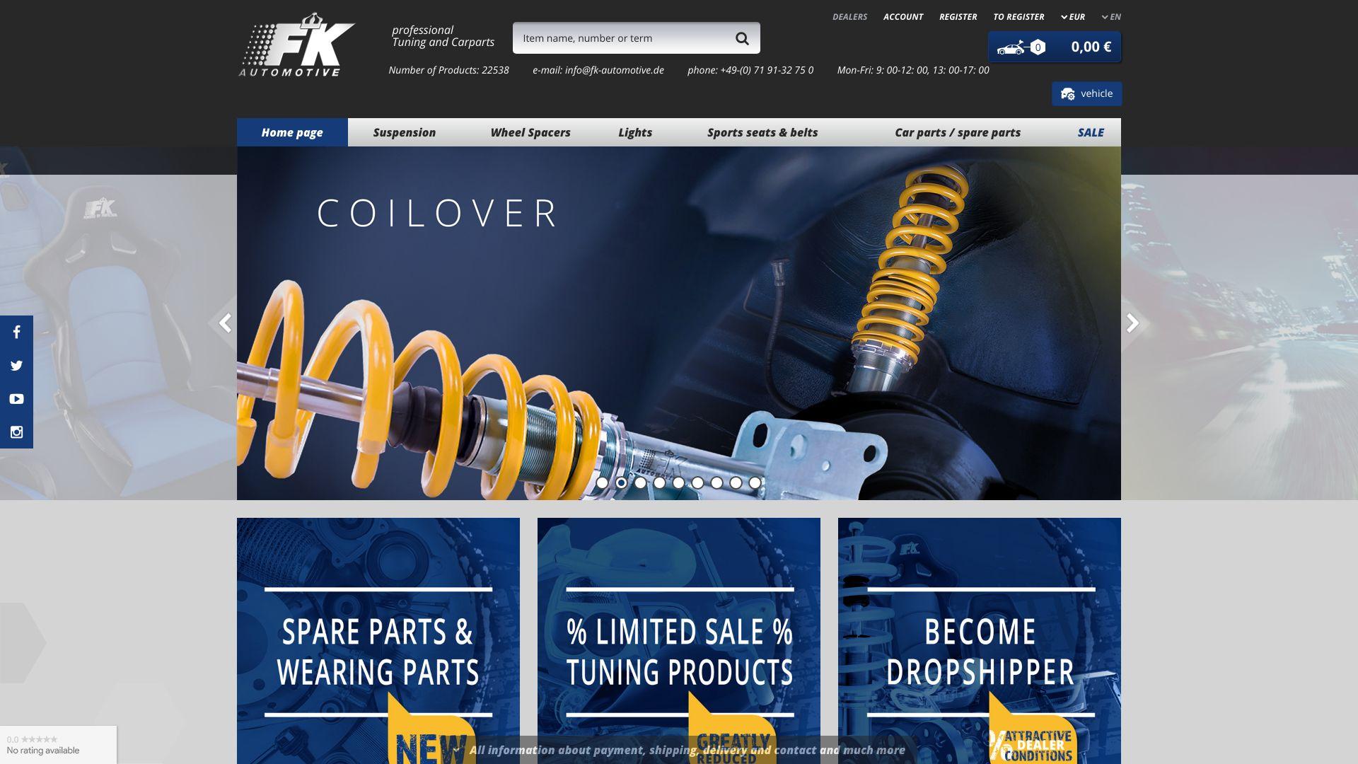 FK Automotive screenshot