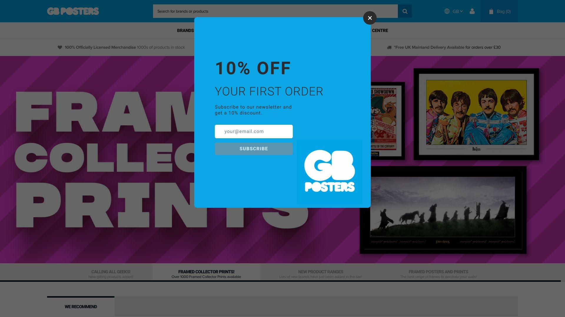 GB Posters screenshot
