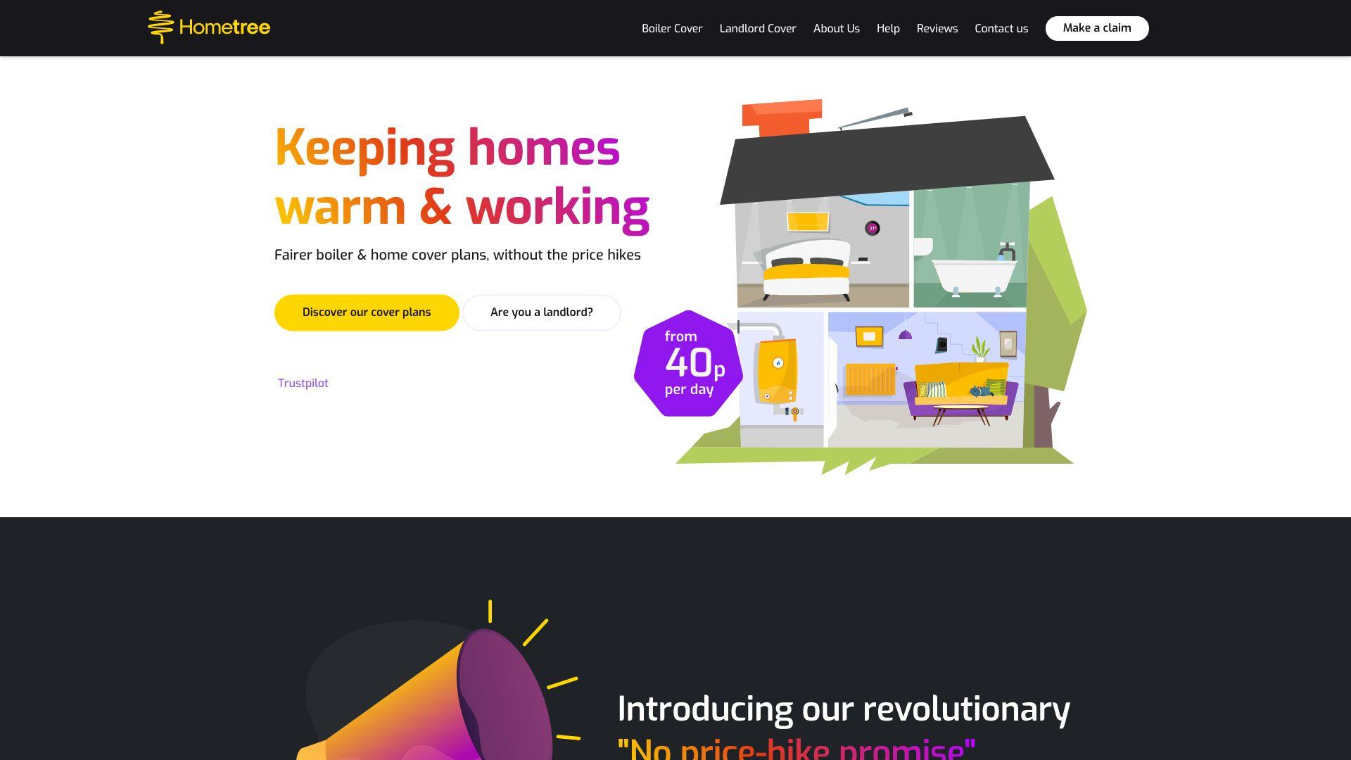 Hometree screenshot