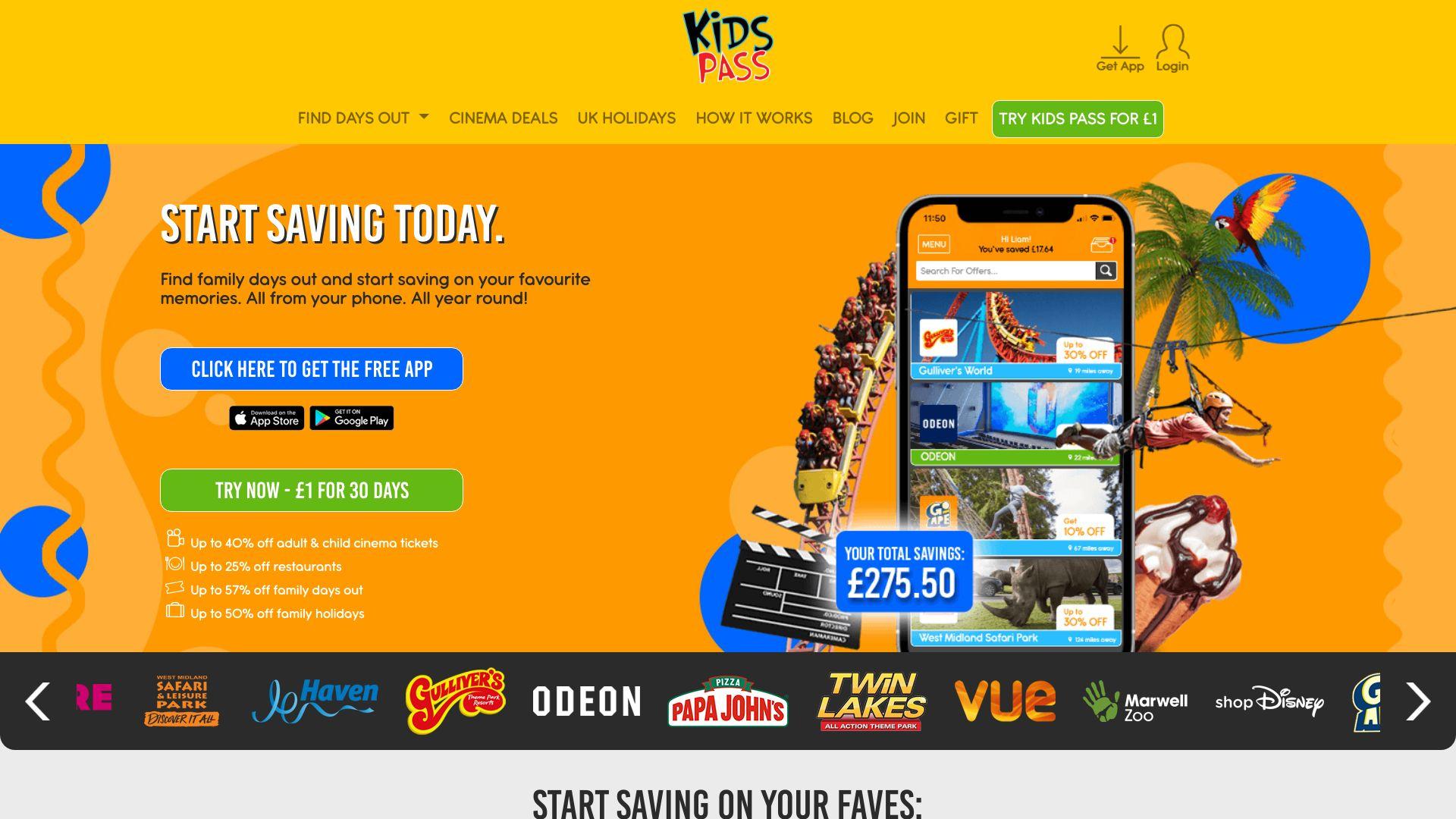 Kids Pass screenshot