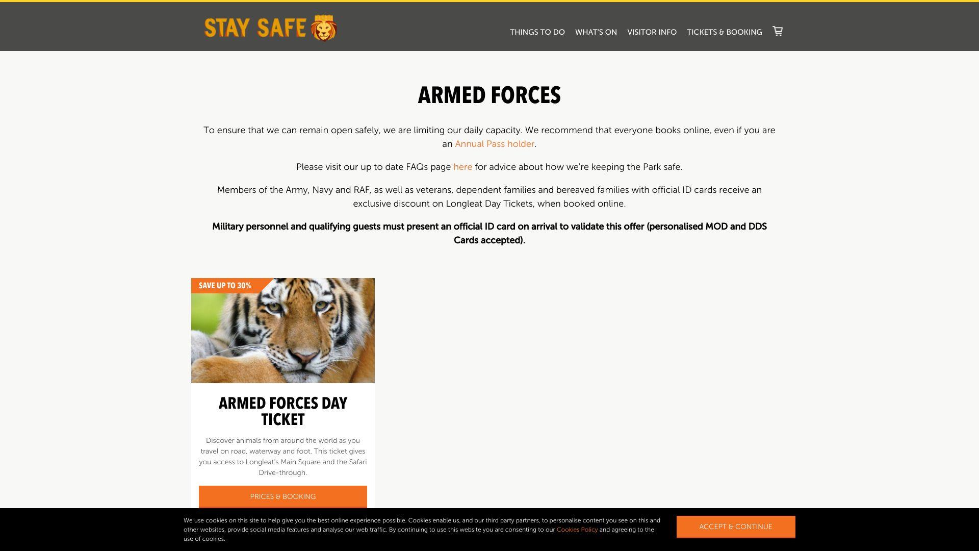 Longleat Safari & Adventure Park screenshot