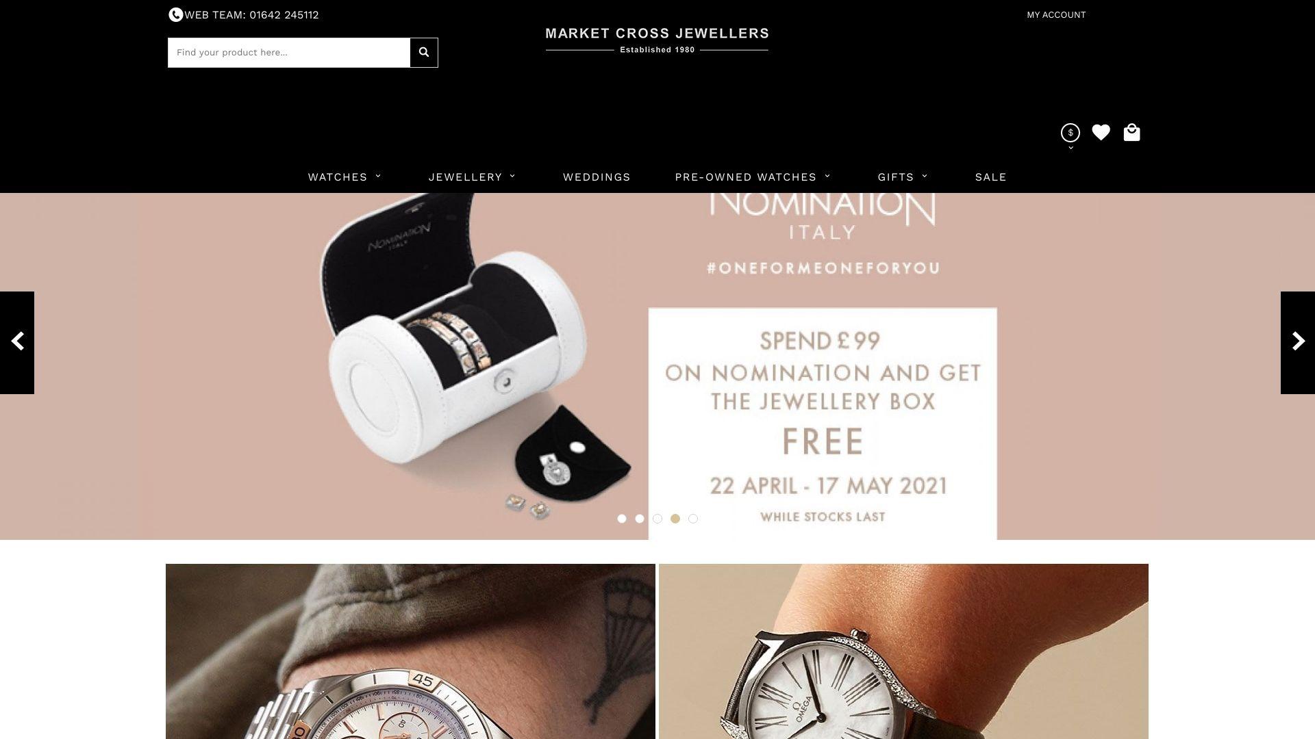 Market Cross Jewellers screenshot