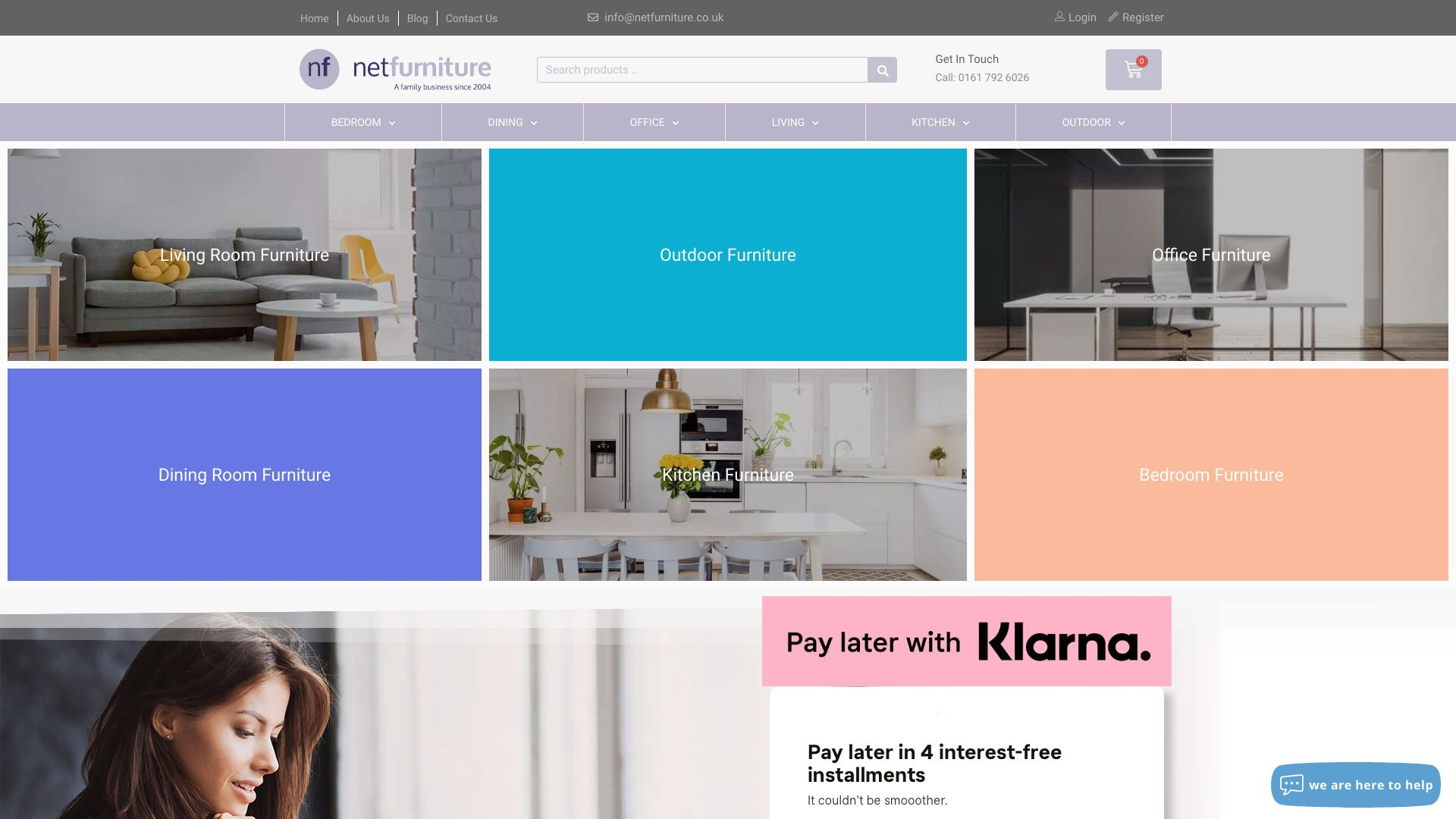 Netfurniture screenshot
