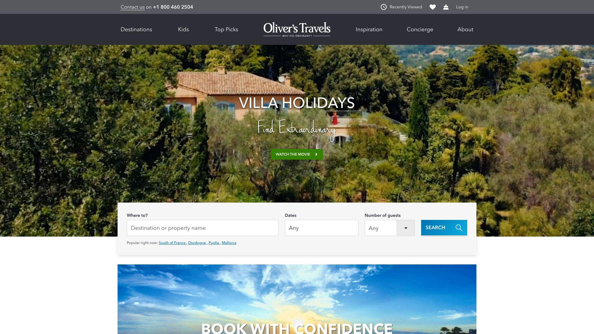 Olivers Travels screenshot