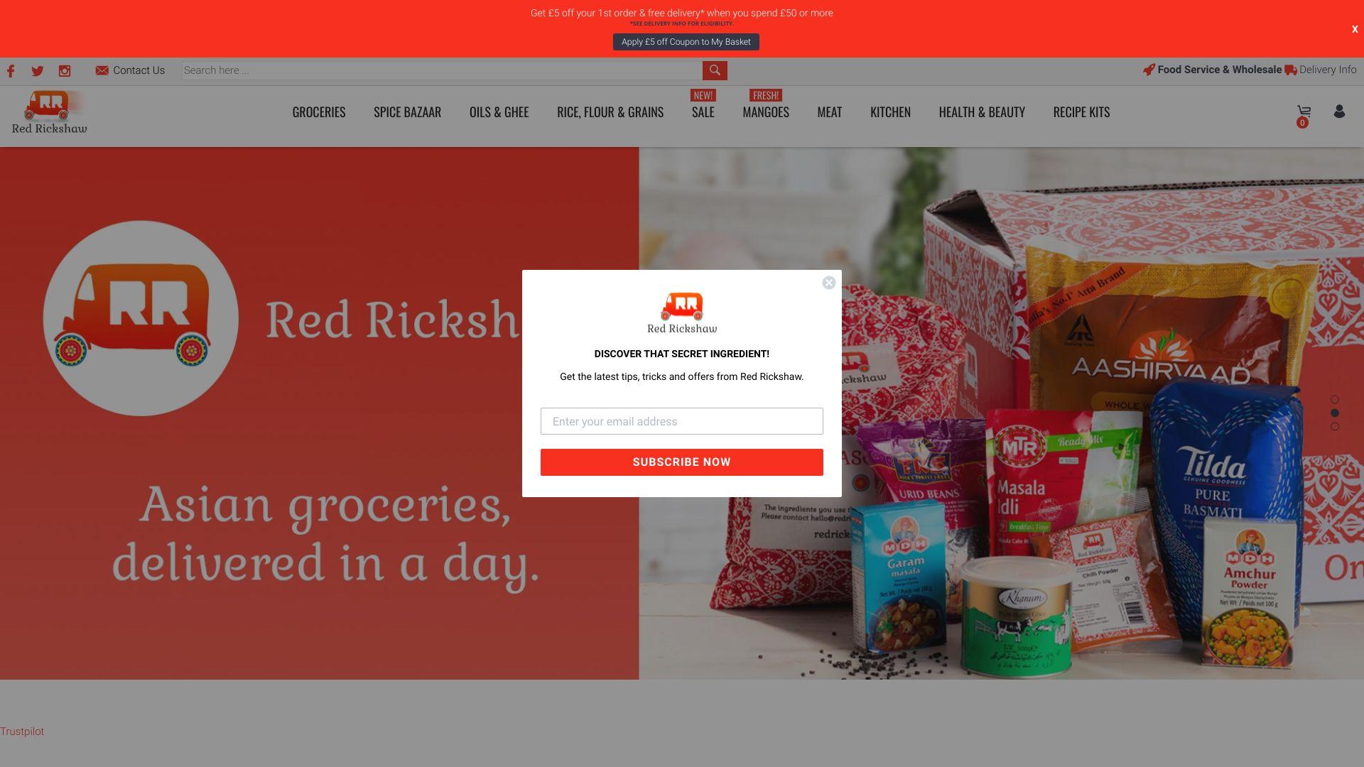 Red Rickshaw Limited screenshot