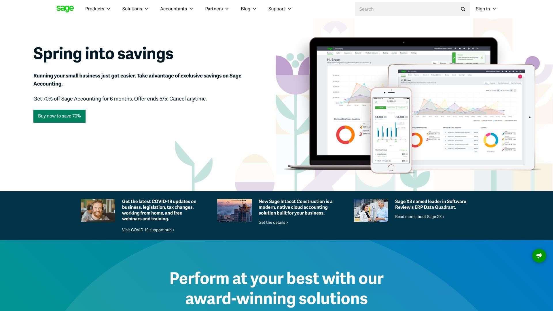 Sage screenshot