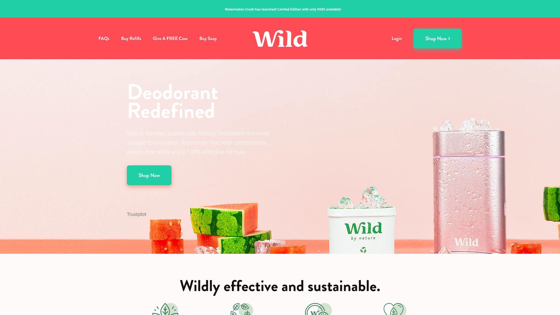 Wild screenshot